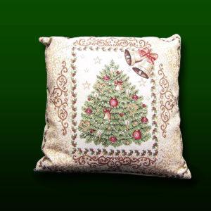 poduszka z motywem świątecznym