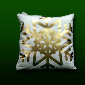 poduszka z motywem zimowym